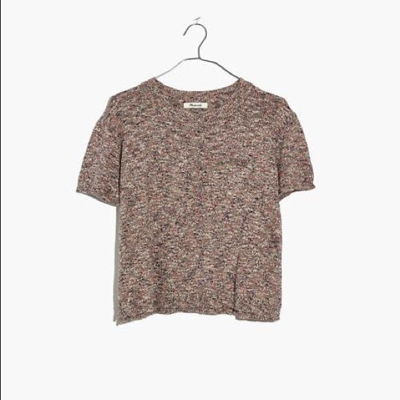Madewell Tops - Madewell Sweater Pocket Tee